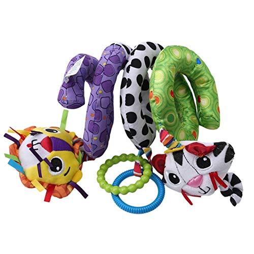 Eleusine Baby Infant Crib Toy Spiral Aktivität Bett Kinderwagen Plüsch Tier Hänge Spielzeug