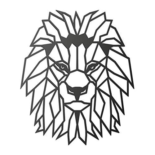 CONTRAXT Animales geométricos Figuras Decoracion Modernas Cuadros de Decoracion Salon Decoracion hogar y Oficina Cuadros Decoracion de Pared Originales (León)