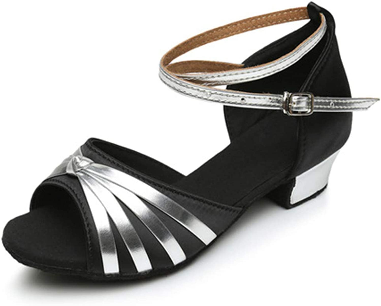 Cici shoes Ballroom Latin Social Salsa Bachata Tango Performance Dance shoes, Premium Satin