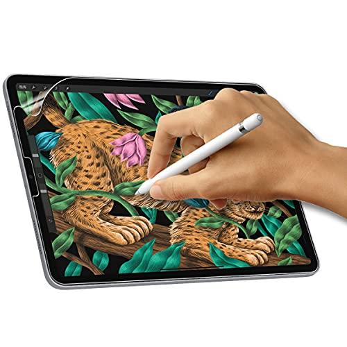 XunyLyee [2 Stück] Matte Bildschirmschutz Kompatibel mit iPad Air 4. Generation 10,9 Zoll, Blendfreiem Zeichnen & Skizzieren, Like-Paper Bildschirmschutzfolie für iPad Pro 11 Zoll