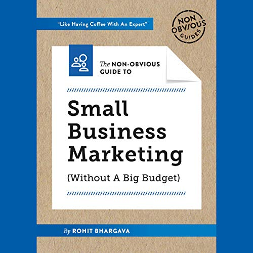 The Non-Obvious Guide to Small Business Marketing (Without a Big Budget) audiobook cover art