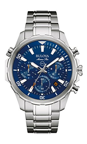 Bulova Reloj de vestir de acero inoxidable de cuarzo para hombre (Modelo: 96B256)