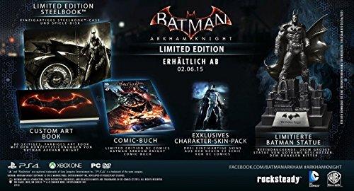 Xbox One Spiel Batman Arkham Knight Limited Collector´s Edition mit Statue NEU