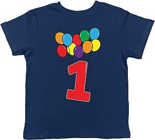 1 Year Old Birthday Balloons Toddler T-Shirt