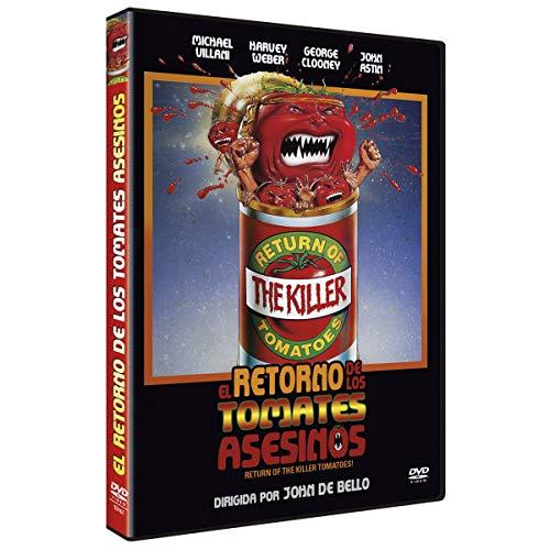 El retorno de los Tomates Asesinos [DVD]