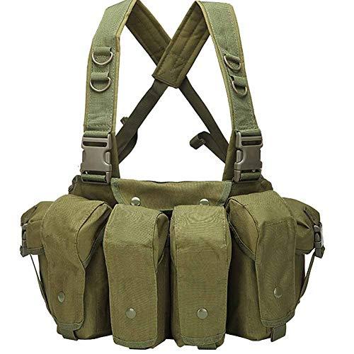 RENDONG Tactical Vest Airsoft Ammo Chest Rig AK 47 Magazine Carrier Vest...