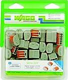 Wago WAG222/PAN50 - Pack de 50 terminales de conexión (serie 222, surtido de 2, 3 y 5 polos)