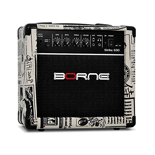 Amplificador Cubo para Guitarra Strike g30 15w - Jornal Borne