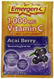 Includes 30 single-serving packets (030 oz each) of Emergen-C Original Formula in Acai-Berry flavor Each serving provides daily immune support* with more Vitamin C than 10 oranges(1) Also contains B Vitamins, Electrolytes, and other Antioxidants like...