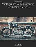 Vintage BMW Motorcycle Calendar 2022