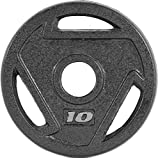 CAP Barbell 2-Inch Olympic Grip Plate (10-Pound (Set of 2))