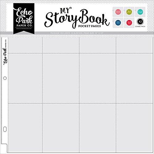 ECHO PARK papermy Story Book Album Pocket pagina's 12 inch x 12 inch - Combo, andere, meerkleurig