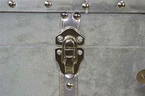 Livitat® Hocker Polsterhocker Suitcase Pouf Truhe Staufach Truhenbank Sitzbank Ottomane LV2083 - 3