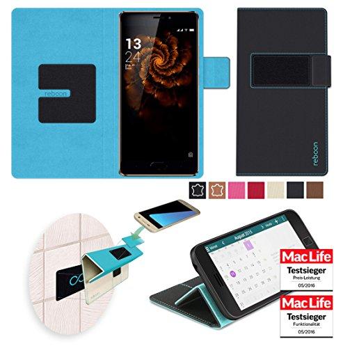 reboon Hülle für Allview X3 Soul Pro Tasche Cover Case Bumper | Schwarz | Testsieger