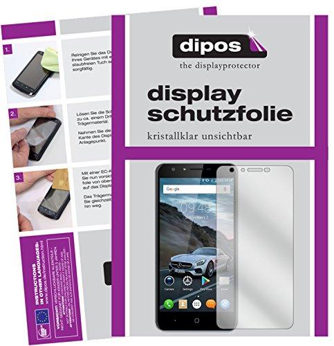 dipos I 2X Schutzfolie klar kompatibel mit Doogee Y6C Folie Bildschirmschutzfolie