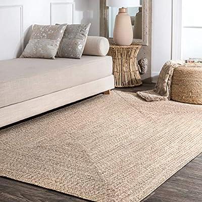 nuLOOM Wynn Braided Indoor/Outdoor Area Rug, 3' x 5', Tan