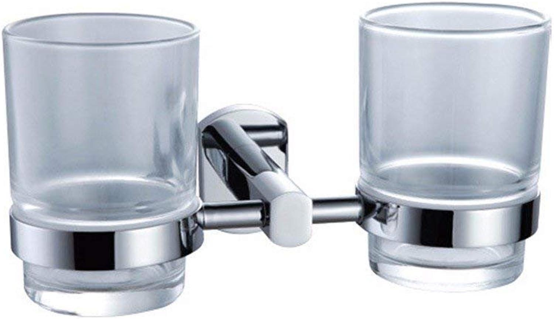 Oval Base Contemporary Chrome, Bathroom, Hair-Towels Bar Handle All,Dual Cup