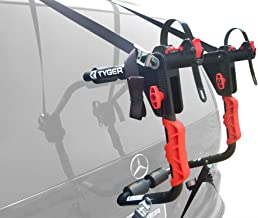 Tyger Auto TG-RK1B204B Deluxe Black 1-Bike Trunk Mount Bicycle Carrier Rack. (Fits Most Sedans/Hatchbacks/Minivans and SUVs.)