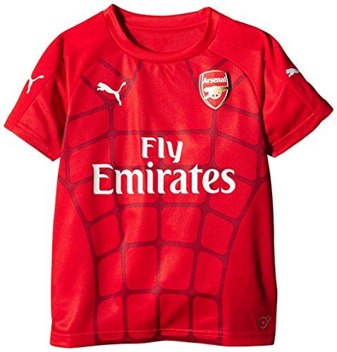 PUMA Fußball Stadion Arsenal-Club-Replica-Shirt-High Risk Red/Black, Iris 32/34 (DE)