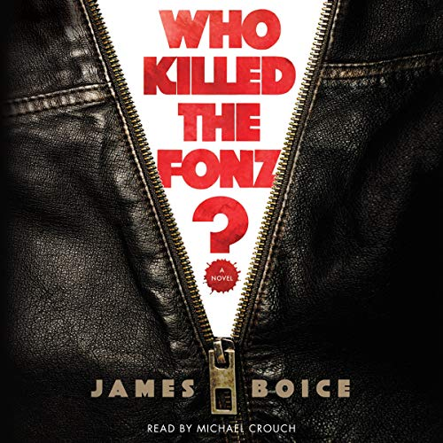Who Killed the Fonz? audiobook cover art