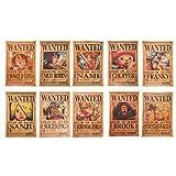SGOT Anime One Piece Poster Kraftpapier Hochwertiger