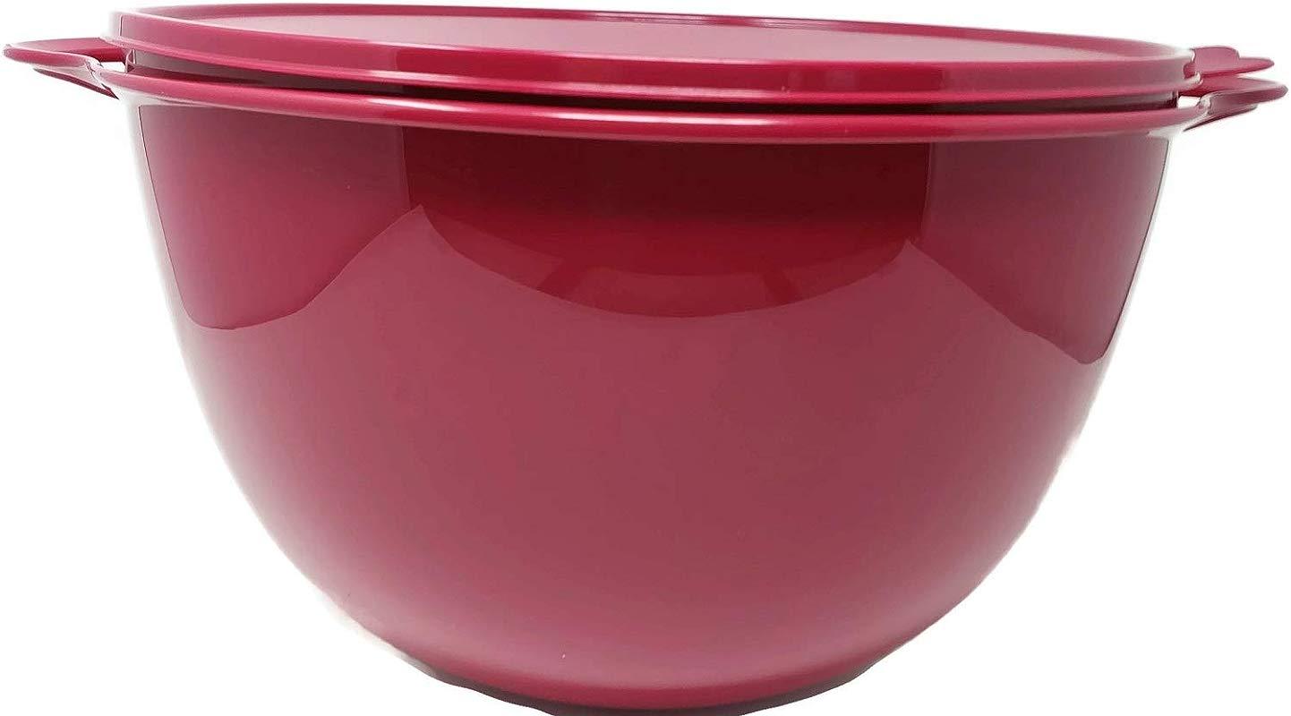 Tupperware Jumbo 59 Cup Thatsa Bowl In Deep Purple
