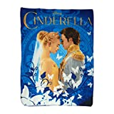 Disney's Cinderella, 'Royal Couple' Woven Tapestry Throw Blanket, 48' x 60', Multi Color