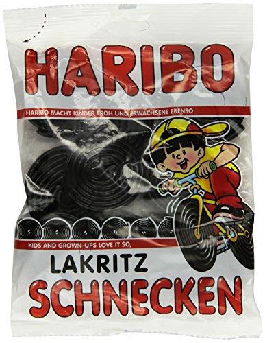 Haribo Lakritz Schnecken , 4er Pack (4 x 200 g)