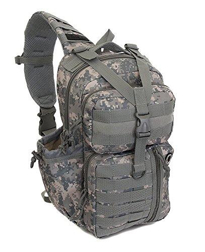 """Nexpak 18"""" Tactical Messenger Sling Bag Outdoor Travel Hiking Backpack TL318-DM Digital Camouflage"""
