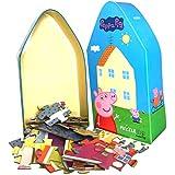 Barbo Toys Peppa Pig Puzzle Juguetes para Niños a Partir de 3 Años | Apto como Primer Rompecabezas | Contiene 39 Piezas de Rompecabezas | Licencia Oficial