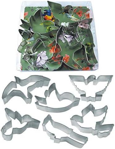 R M International Birds Cookie Cutters Bird American Eagle Cardinal Hummingbird Seagull Dove product image