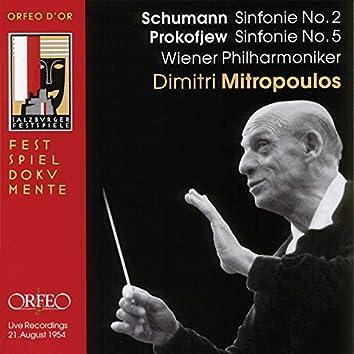 Schumann: Symphony No. 2 - Prokofiev: Symphony No. 5 (Live)