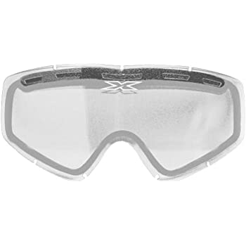 EKS BRAND 067-40000 Unisex-Adult Enduro Dual-Pane GOX MX Motorcross Goggle Replacement Lens Clear, One Size