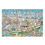 DAMKELLY Store 1000 piezas puzzles de madera DIY – Palillos de madera para decoración del hogar, color blanco, 200 piezas