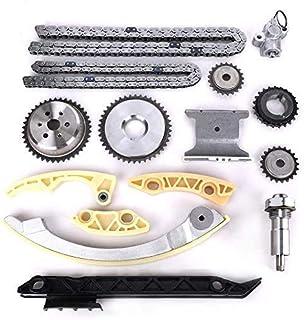 موتور زمان بندی زنجیره کیت w / راهنمای زنجیره ای Tensioner Sprocket برای Buick Chevy GMC Pontiac Saab ساترون 2.0L 2.2L 2.4L L4 جایگزین # 12680750 9-4201S 9-4201SX