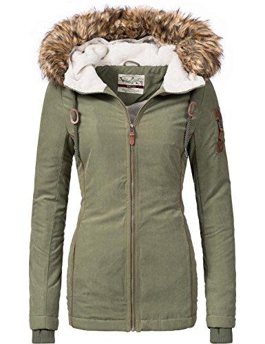 Abrigo Urban Surface,de invierno,en2colores,de las tallas S a la XL, para mujer (44392A)