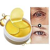 24K Gold Eye Masks Collagen Eye Mask Ageless Sleep Mask Hydrogel Eye Patches Pads Dark Circles Moisturizing Face Mask Care 60pcs By Shouhengda