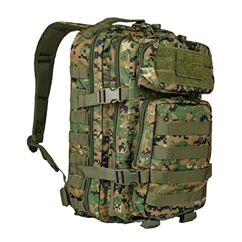 Mil-Tec US Assault Pack Backpack,L,Digital Woodland