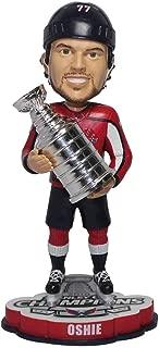 TJ Oshie Washington Capitals 2018 NHL Champions 2018 Bobblehead NHL