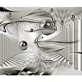 decomonkey | Papier peint intissé 3d Effet Abstrait Abstraction 350x256 cm Trompe l oeil |...