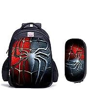 子供リュック MYKK 16インチスーパーヒーロースパイダーマンチルドレンスクールバッグ整形外科用バックパックキッズスクールボーイズガールズモチラインファンティルカトゥーンバッグ