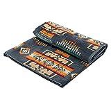 [ ペンドルトン ] PENDLETON タオルブランケット オーバーサイズ ジャガード タオル XB233 53803 スレート Oversized Jacquard Towels Slate 大判 バスタオル [並行輸入品]