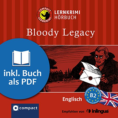 Bloody Legacy (Compact Lernkrimi Hörbuch) Titelbild