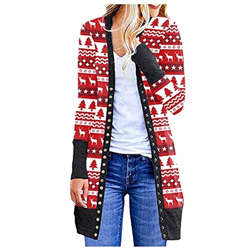 Cardigan for Women, Cute Tops for Women,Womens Funny Frog Printed Pullover Long Sleeve Pocket Hoodies Jumper Shirts