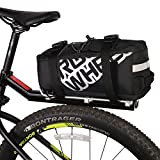 ArcEnCiel Bike Trunk Bag Bicycle Panniers Water-Resistant Rack Rear Seat Carrier Pack