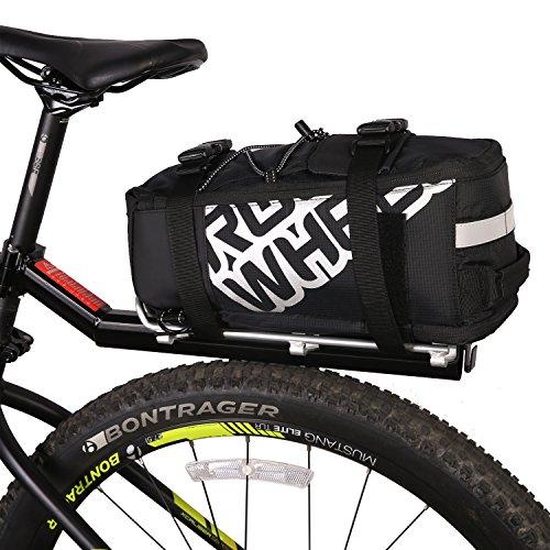 ArcEnCiel Bike Trunk Bag Bicycle Panniers Water-Resistant Rack Rear Seat Carrier Pack