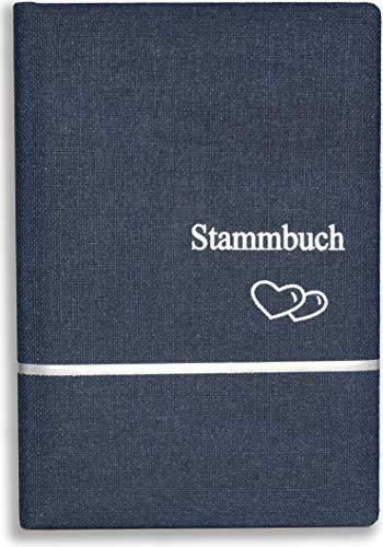 Stammbuch der Familie Inea blau Familienstammbuch Hochzeit Standesamt