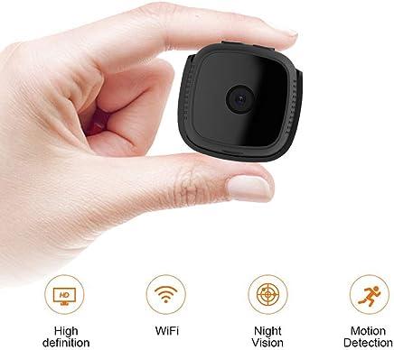 MUTANG Mini Telecamera Nascosta WiFi, Telecamera Spia Nascosta Senza Fili Wearable Camera, C9 HD 720P Telecamera Tascabile Piccola camma Nascosta con rilevazione Notturna Motion Detection - Trova i prezzi più bassi