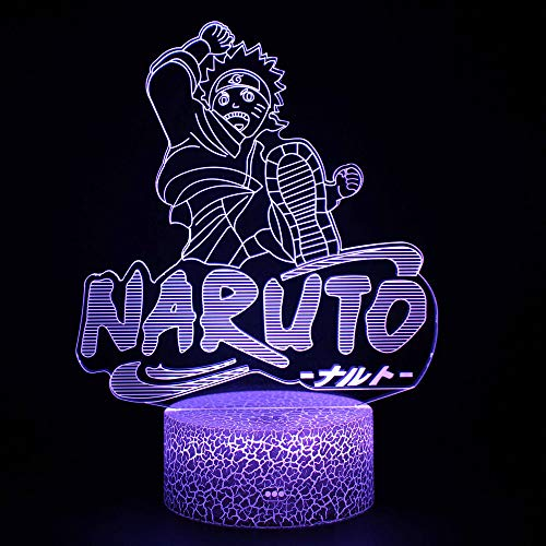 Lámpara de ilusión 3D, LED USB Luces nocturnas Ilusión Caballo Lámpara de mesa táctil Luces para la decoración del partido Presentes de cumpleaños
