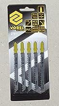 VOREL 27811 - sierra de calar Hojas de Bosch/madera, plástico / 5pcs